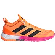 Adidas adizero Ubersonic 4 oranžová/černá - Tenisové boty