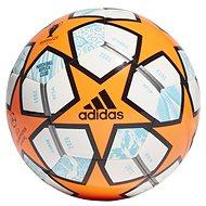 Adidas Final 21 orange 3 - Fotbalový míč