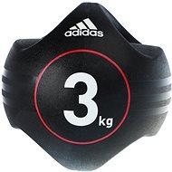 Adidas Medicine ball dvojitý úchop 3kg - Medicinbal