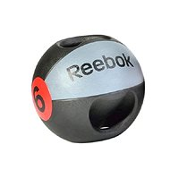 Reebok Medicineball dvojitý úchop 6kg - Medicinbal