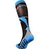 ROYAL BAY® Air, černo-modrá - podkolenky