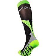 ROYAL BAY® Air, černo-zelená - podkolenky