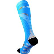 ROYAL BAY® Neon 2.0, 39-41/C3, modrá - podkolenky