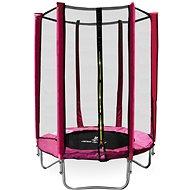 Aga Sport Top Trampolína 150 cm Pink + ochranná síť - Trampolína