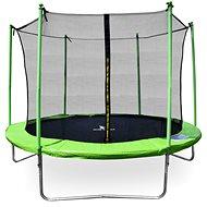 Aga Sport Fit Trampolína 180 cm Light Green + vnitřní ochranná síť - Trampolína