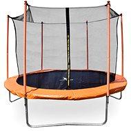 Aga Sport Fit Trampolína 180 cm Orange + vnitřní ochranná síť - Trampolína