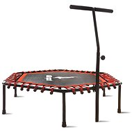 Aga FITNESS Trampoline 130 cm Red + handle