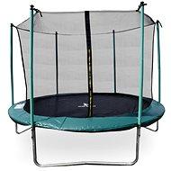 Aga Sport Fit Trampolína 250 cm Dark Green + vnitřní ochranná síť  - Trampolína