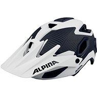 Alpina Rootage white-carbon vel. 52-57 cm - Helma na kolo