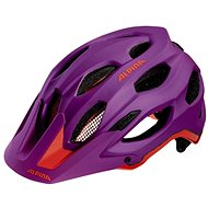 Alpina Carapax purple - neon red vel. 52 - 57 cm