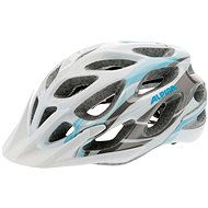Alpina Mythos 2.0 white-lightblue-darksilver vel. 52 - 57 cm