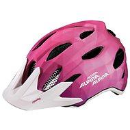 Alpina Carapax Jr. Flash pink-white M - Helma na kolo