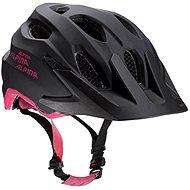 Alpina Carapax Jr. steelgrey-black-pink M - Helma na kolo