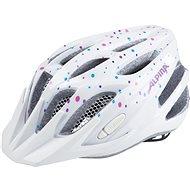 Alpina FB Jr. 2.0 Flash white polka dots M  - Helma na kolo