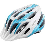 Alpina FB Jr. White-Cyan M - Bike helmet