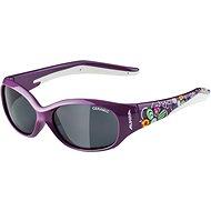 Alpina Flexxy Kids purple flower - Cycling Glasses