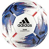 Adidas TEAM Competitio, WHITE/BLUE/BLACK/SOLR - Fotbalový míč