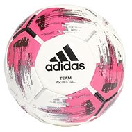 Adidas TEAM Artificial, WHITE/SHOPNK/BLACK/SI - Fotbalový míč