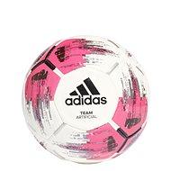 Adidas TEAM Artificial, WHITE/SHOPNK/BLACK/SI, vel. 5 - Fotbalový míč