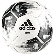 Adidas TEAM Glider, WHITE/BLACK/SILVMT - Fotbalový míč
