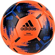Adidas TEAM Match Wint, SORANG/BLACK/BLUE - Fotbalový míč