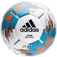 Adidas TEAM Replique, WHITE/BRCYAN/BORANG - Fotbalový míč