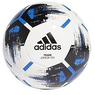 Adidas Team J350, WHITE/BLACK/BLUE/SILV - Fotbalový míč