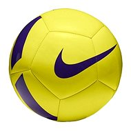 Nike Pitch Team Football, YELLOW/VIOLET - Fotbalový míč