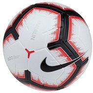 Nike Merlin, WHITE/BRIGHT CRIMSON/BLACK/BLACK, vel. 5 - Fotbalový míč