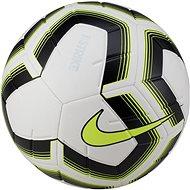Nike Strike Team, WHITE/BLACK/VOLT/VOLT - Fotbalový míč