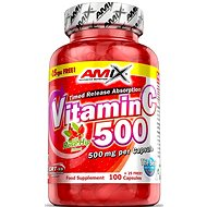 Amix Nutrition Vitamin C 500mg, 125cps