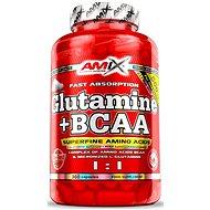 Amix Nutrition L-Glutamin + BCAA, 360cps - Aminokyseliny