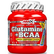 Amix Nutrition L-Glutamine + BCAA, 500g, Natural - Amino Acids