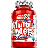 Amix Nutrition Multi Mega Stack, 120 tablet - Vitamín