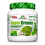 Amix Nutrition SuperGreens Drink, 360g, apple - Smoothie
