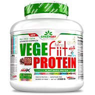 Amix Nutrition Vege-Fiit Protein, 2000g, Double Chocolate - Protein