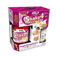 Amix Nutrition Shake 4 Fit&Slim, BOX, 1000g, Vanilla + present - Sportovní nápoj