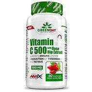 Amix Nutrition GreenDay® Vitamin C 500 s extraktem z šípků 60cps