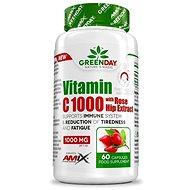 Amix Nutrition GreenDay® Vitamin C 1000 s extraktem z šípků 60 cps