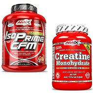 Amix Nutrition IsoPrime CFM Isolate, 2000g, Chocolate + Amix Nutrition Creatine monohydrate, powder, - Sada