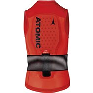 Atomic Live Shield Vest Jr Red - Páteřák