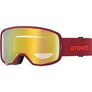 Atomic REVENT STEREO Red - Lyžařské brýle