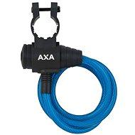 AXA Zipp 120/8 klíč modrá - Zámek na kolo