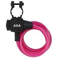 AXA Zipp 120/8 klíč růžová - Zámek na kolo