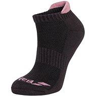 Babolat 2 Pairs Invisible W, Black/Pink - Socks