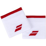 Babolat Jumbo Wristband Logo wh.-tomato red - Potítko