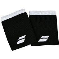 Babolat Jumbo Wristband Logo, Black/White - Wristband