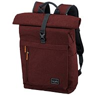 Městský batoh Travelite Basics Roll-up Backpack Bordeaux