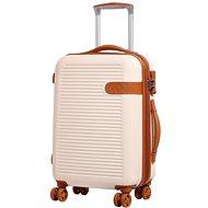 Rock Valiant TR-0159/3-S ABS - krémová - Cestovní kufr s TSA zámkem