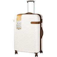 Rock Valiant TR-0159/3-XL ABS - krémová - Cestovní kufr s TSA zámkem